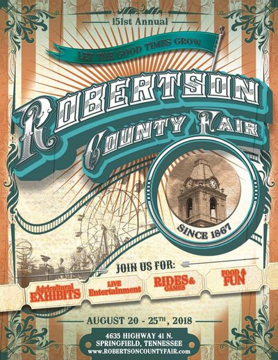 2018 Robertson County Fair Catalog V8.14.18