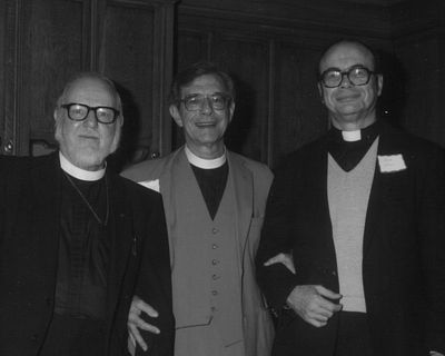 Rev. Dr. Everett I. Campbell, Rev. John Baiz and Rev. Dr. Donald Hargrave Gross