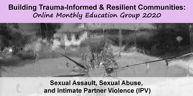 "Noon - 1:00 EST ""Sexual Assault, Sexual Abuse, and Intimate Partner Violence (IPV)"""