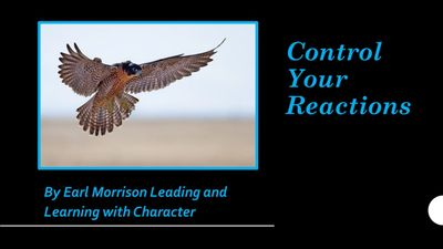 Control Your Reactions Webinar