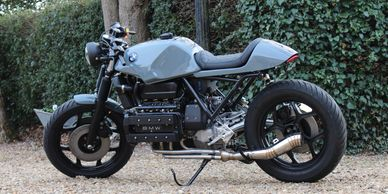 BMW K100 Cafe racer build by ASE Custom motorcycles