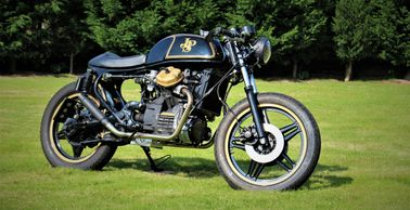 Honda CX500 JPS cafe racer build