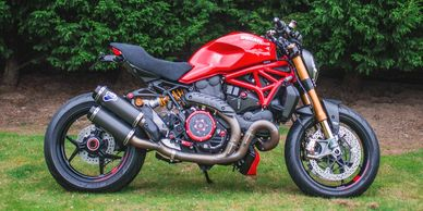 Ducati Monster 1200S Custom built by ASE Custom motorcycles