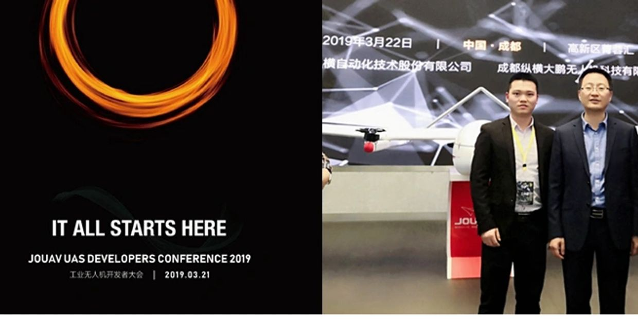 It all starts here. 2019.3.21 JOUAV UAS DEVELOPERS CONFERENCE in Chengdu, China.