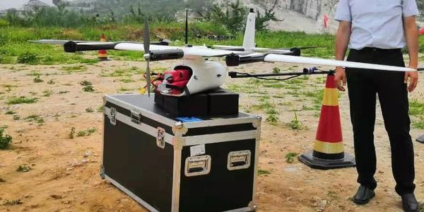 Geodrones System's aeromagnetic survey system integration with CW-007