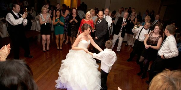Tone Productions creates special moments on the dance floor of your wedding reception.