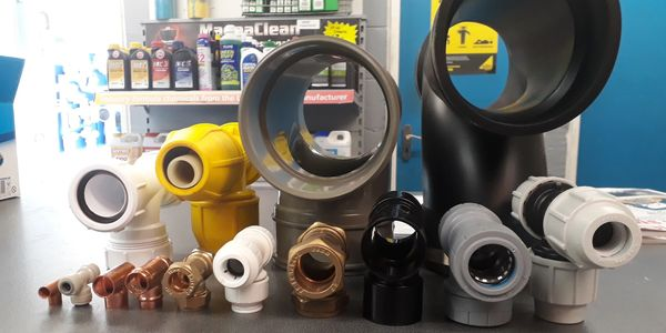 Waste, copper, compression, MDPE, Plasson, Philmac, Yorkshire, Speedfit, Polypipe, Polyplumb, McAlphine