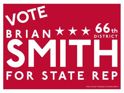 Vote Brian Smith PA State Rep, 66th District