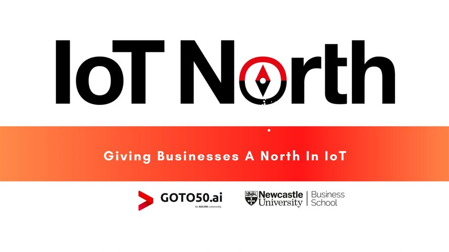 IoT North Logo - giving businesses a north in IoT