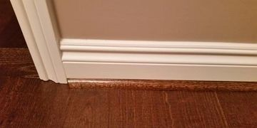 Stain or painted trim