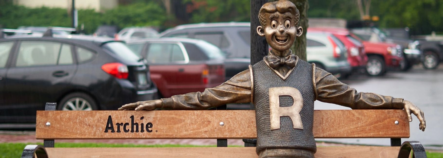 Archie Statue, Meredith New Hampshire