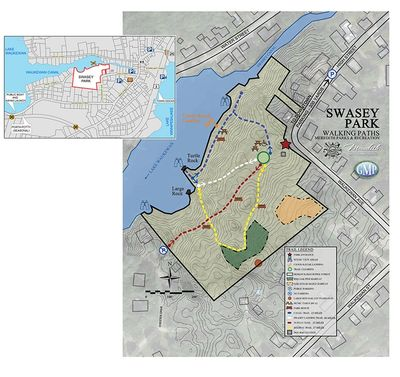 Swasey Park Project Map
