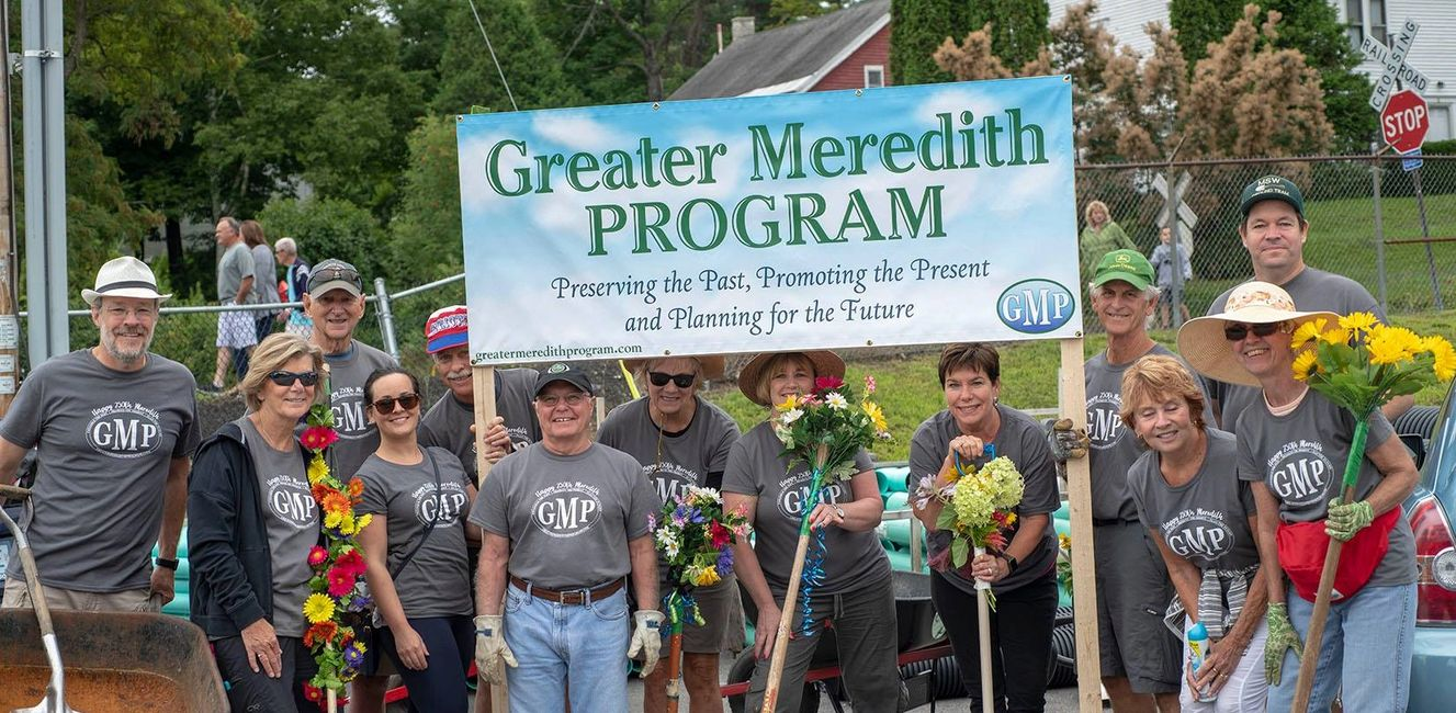Greater Meredith Program group picture