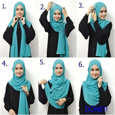 Simple And Easy Step Hijab Tutorial Simple And Easy Step Hijab Tutorial How To Wear Hijab Wearing Hijab
