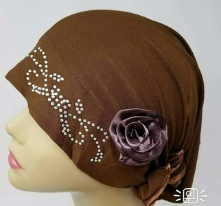 Turban  with rhinestone