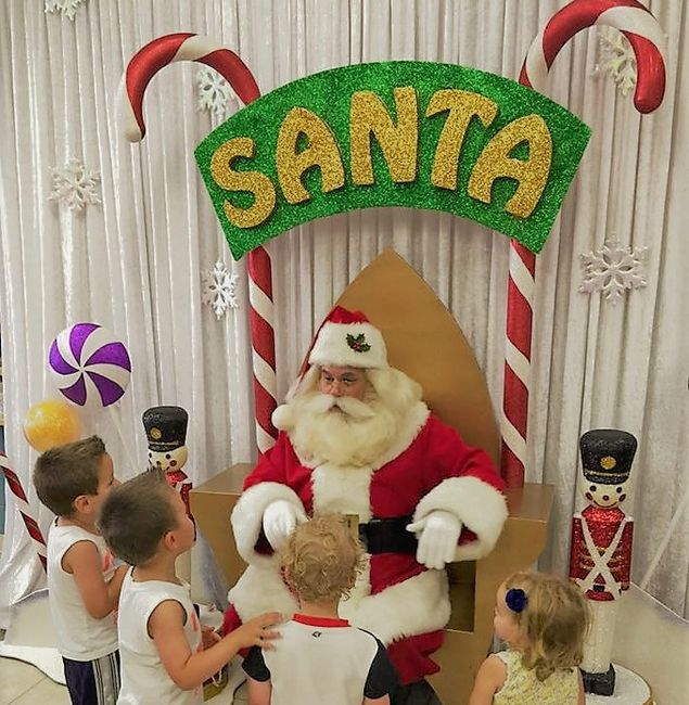 Hire Storybook Santa Claus for holiday corporate events in Tulsa, Oklahoma. Rent Santa for parties.
