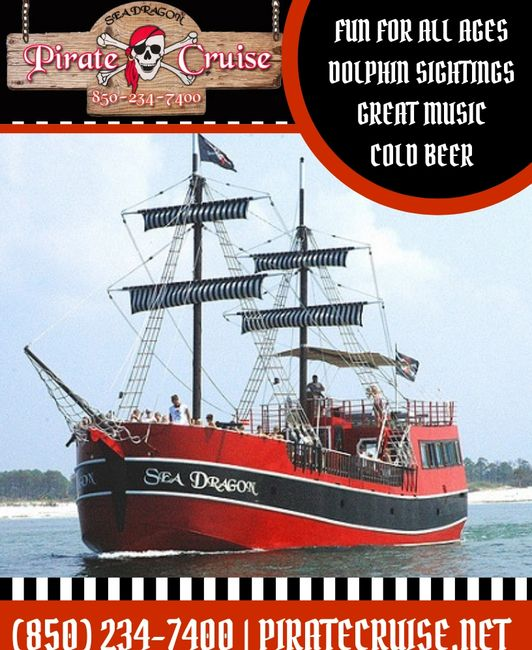 SEA DRAGON PIRATE CRUISE DESTIN JEEP RENTALS