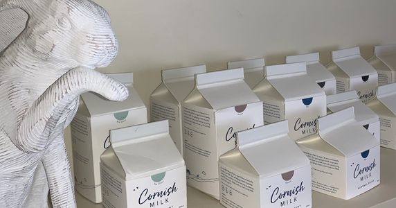 Stockist for Cornish Milk Mineral Paint