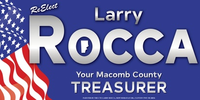 Larry Rocca, Macomb County Treasurer
