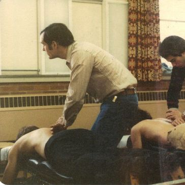 Doctor Hard at Logan College of Chiropractic in 1979.