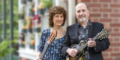 Judy Handler and Mark Levesque guitar duets,  guitar & mandolin music