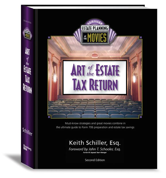 Art of the Estate Tax Return text published by Bloomberg BNA