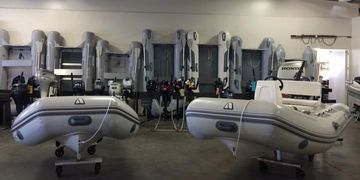Achilles and Duras Inflatable Boats for sale in Los Angeles.  Dinghy, RIB, Yacht Tender, Runabout.