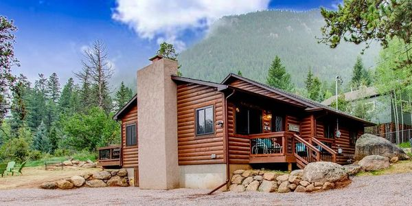 This Green Mountain Falls home has been completely renovated to include 3 bedrooms and 2 bathrooms.