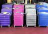 These Are Inexpensive, Hard-Sided Spinner Luggage with Built-In TSA Locks. 3 Piece Set: $165.00 or Individually: $99.00 / $69.00 / $49.00