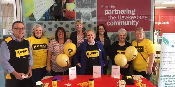 RUOK DAY  supporting community Hawkesbury Council Benidgo Bank Richmond