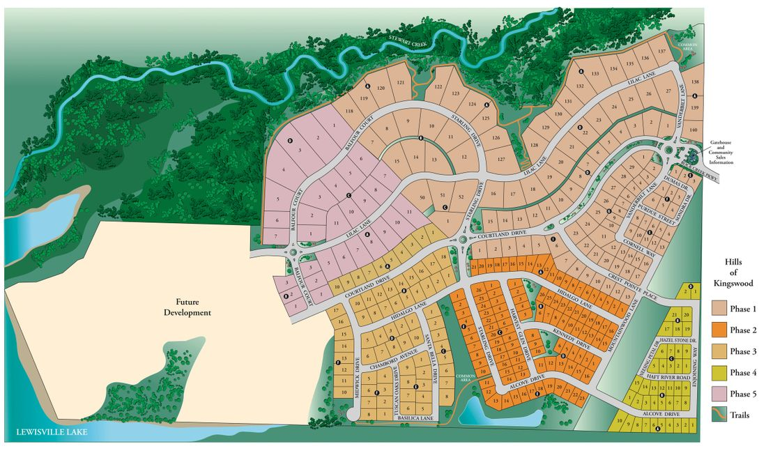 The Hills of Kingswood Master Plan