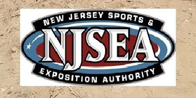 NJSEA the New Jersey Sports and Exposition Authority Logo.