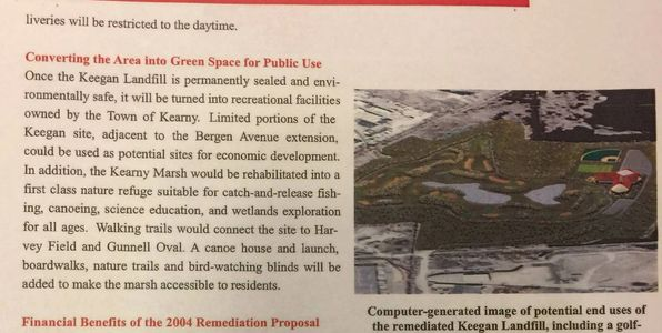 The Promise: Recreational Space and a Golf Course.