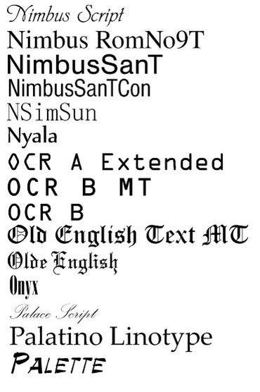 Fonts & Monogram | Champion Embroidery