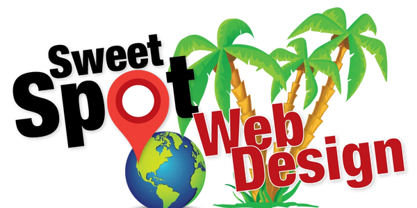 logo for sweet spot web design