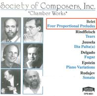 CD cover: Society of Composers, Inc. compilation.