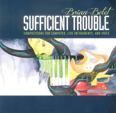 CD cover: Sufficient Trouble