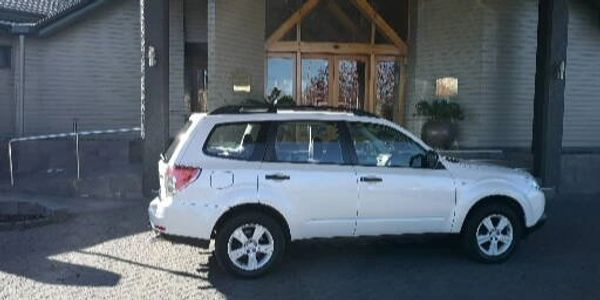 Subaru SUV, great for tours and Airport Transfers