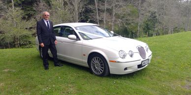 The chauffeur and owner, Keith