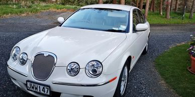 Luxury Jaguar sedan car