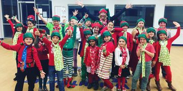 Elf Patrol, Wrightsville Beach Tree Lighting Ceremony, Performance Club Kids