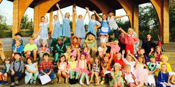 Children's Theater in the Park, Wrightsville Beach, Performance Club Kids