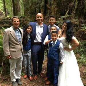 Prairie Creek Redwoods State Park. Go-anywhere wedding, officiant. Elope, wed or renew your vows.