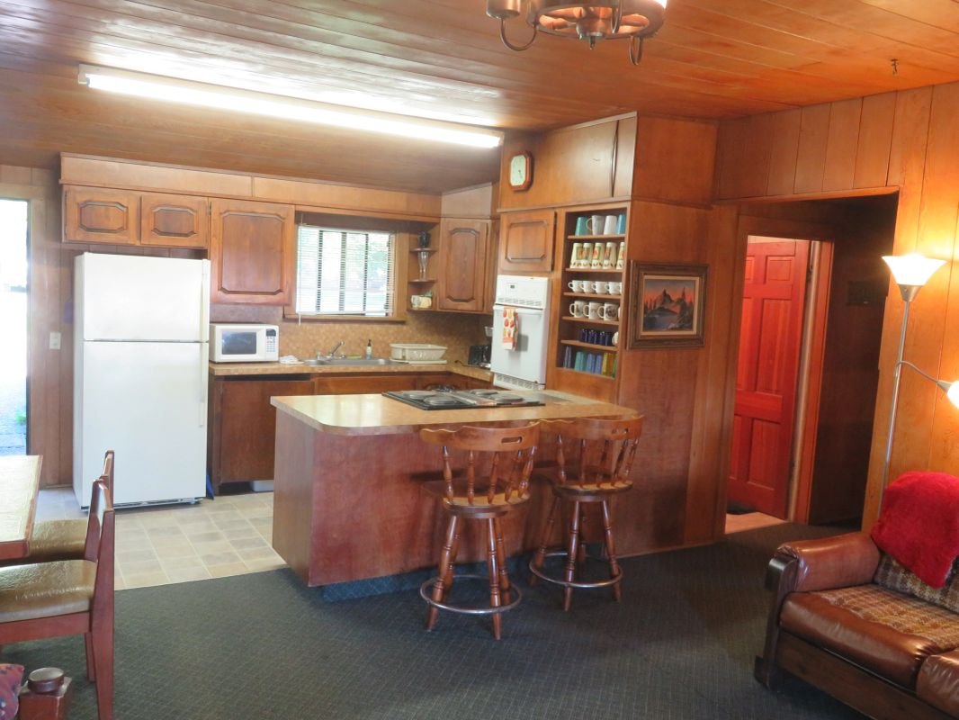 Two Bedroom Cabin - Kitchen