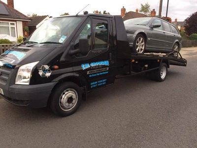 Breakdown recovery of your vehicle