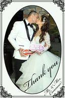Wedding Thank You Cards for your wedding.  Call today to know more on this feature 855-526-6845