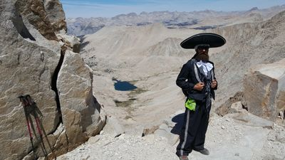 My first accent of the highest peak in the Lower 48, Mt. Whitney, June 2015.