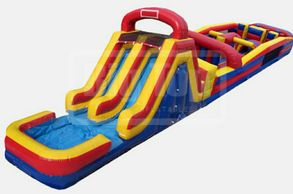 15' Inflatable slide obstacle course  Noblesville Indianapolis Westfield Fishers Cicero  Carmel