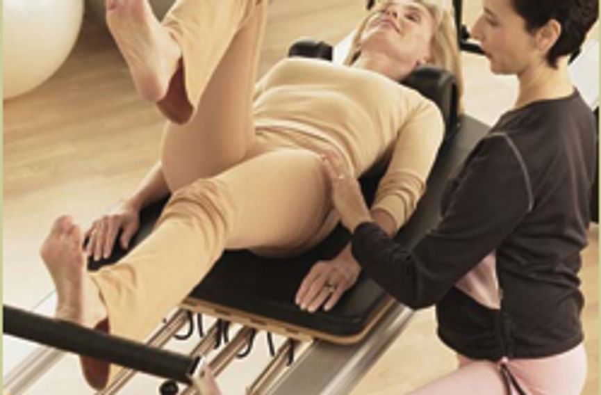 Post Rehab therapy with Blossoming Lotus Pilates and Gyrotonic