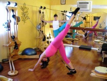 Gyrotonic exercise at Blossoming Lotus Studios Claremont CA
